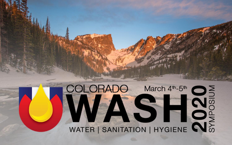Colorado WASH symposium banner