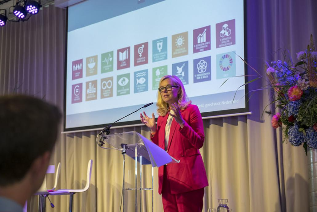 Minister for Foreign Trade and Development Cooperation Sigrid Kaag - 28 May 2018
