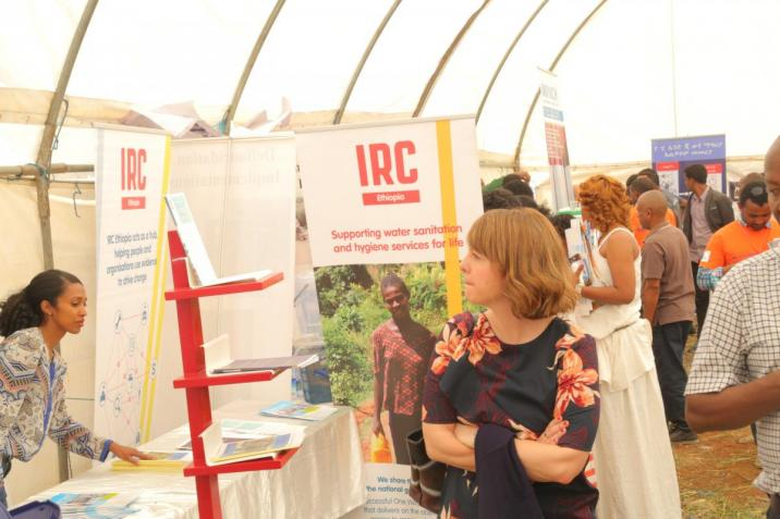 IRC booth at EWTI's premise/WWD/March 2018
