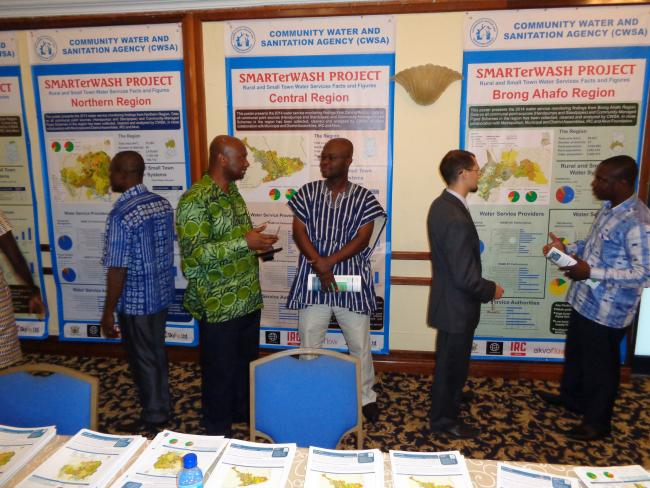 Poster presentations at the Ghana Rural Water Forum