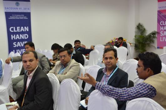 Participants at the SACOSAN VI side event