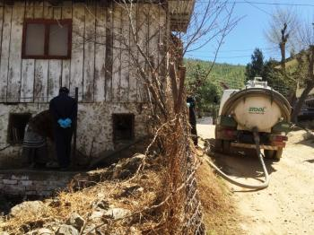 Municipal pit emptying services in Thumphu, Bhutan