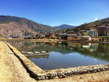 Municipal wastewater treatment plant in Thumphu, Bhutan