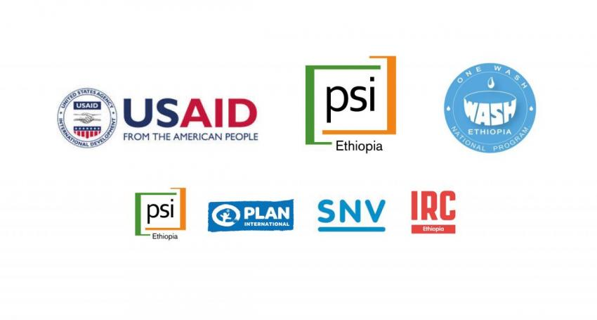 USAID Transform WASH partner logos