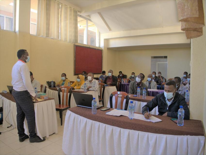 In Hawassa town, both Districts discussed future COVID-19 response activities
