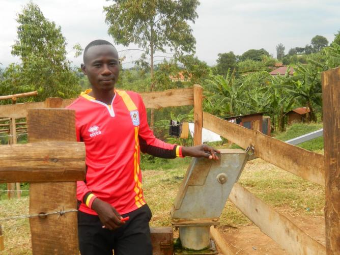 Mugusu Borehole caretaker