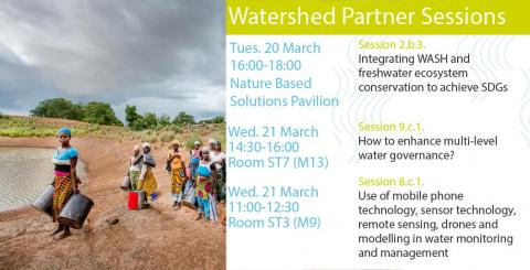 Watershed Partner Sessions on WASH and IWRM