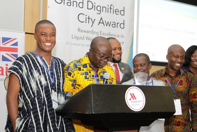 Kumasi Metropolitan Assembly - 1st prize winner, Metropolitan and Municipal Category.