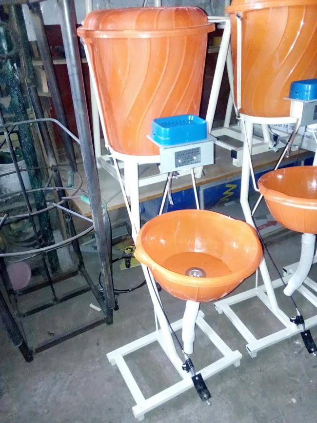 Transform WASH is mainly working on hand washing stations