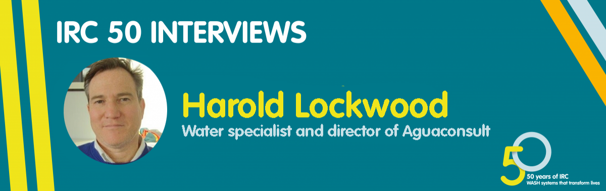 IRC 50 interview with Harold Lockwood, water specialist and director of Aguaconsult
