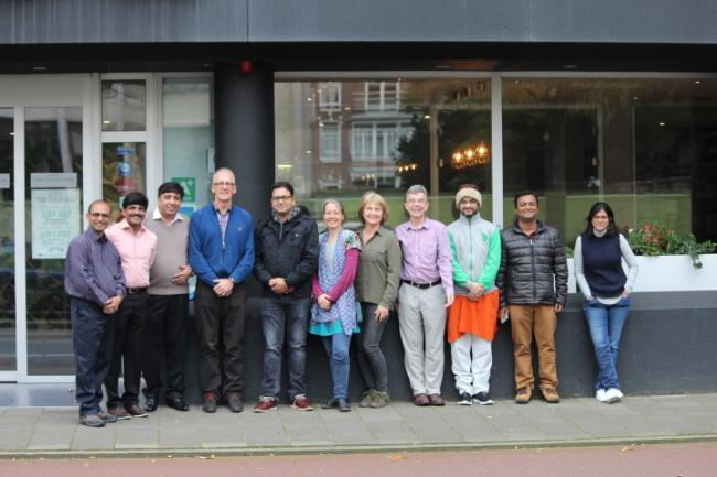 Participants of the IHUWASH International Exposure Visit to The Netherlands. Photo: IRC