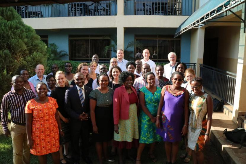 WASH Agenda for Change partners Uganda