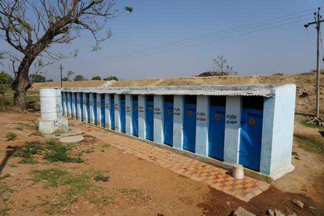Toilet block in Odisha, India. Photo: Andrea van der Kerk/IRC
