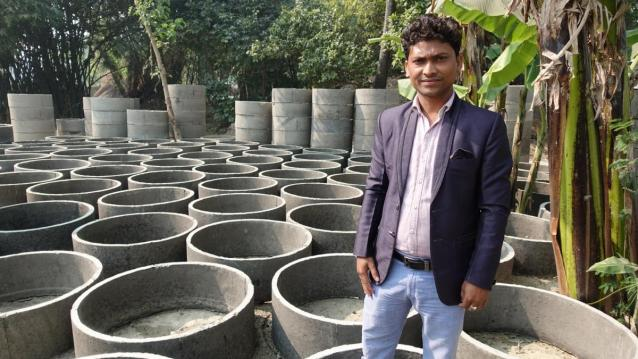 Ramsurat Paswan, owner of Sweety Plant Udyog
