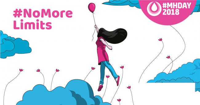 Balloon: #NoMoreLimits - Good menstrual hygiene empowers women and girls to rise