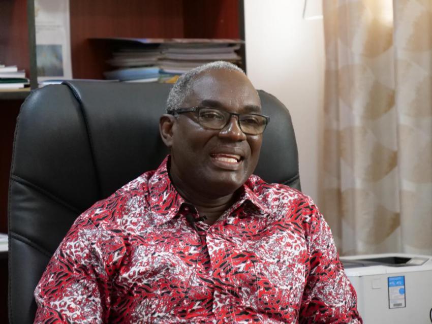Dr Kodjo Mensah-Abrampa, Director General of the NDPC Ghana