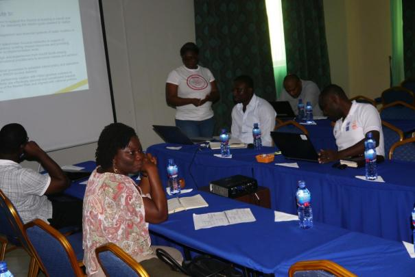 Partner meeting in Ghana