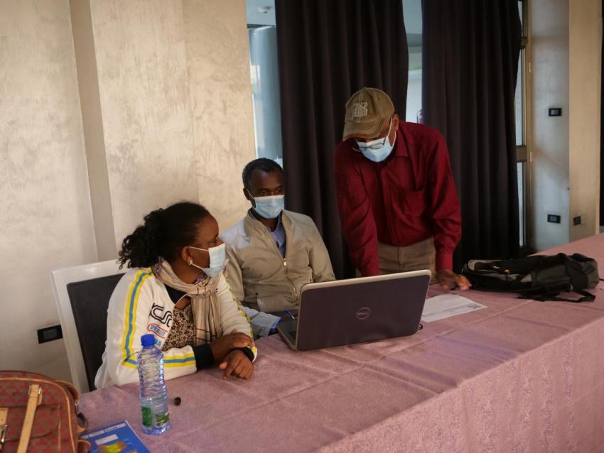 IRC WASH Ethiopia supporting Negelle Arsi Woreda in SDG planning