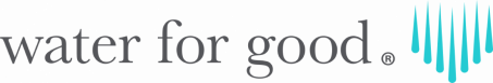 water for good logo