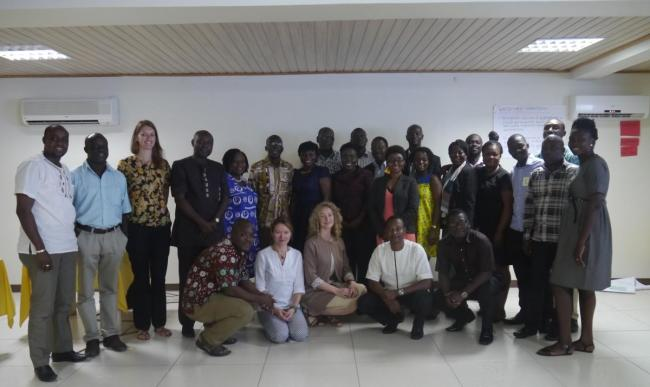 Group photo of the Watershed launch in Ghana