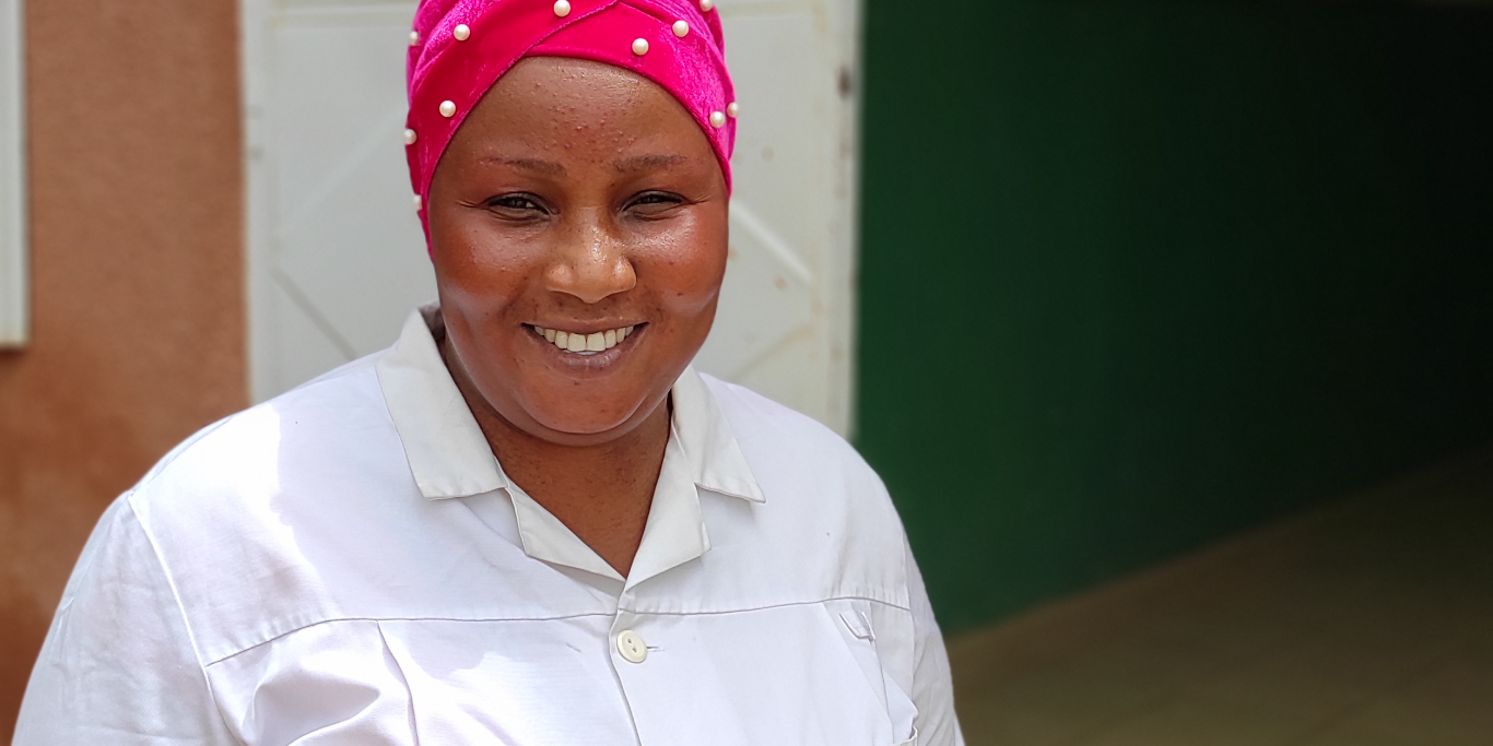 Assistan Koné, Nurse – Public Health Care Centre of Tioribougou commune, Mali.