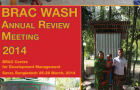 BRAC WASH Annual Review 2014 cover