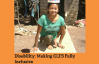 Disability and CLTS report cover