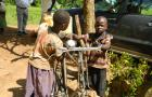 Children fetching water for home use,  Ngetta Sub county, Lira District