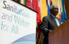 H.E. John Agyekum Kufuor - Former President of Ghana and Chair of Sanitation and Water for All