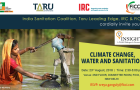 Insights Climate Change, Water and Sanitation invitation card