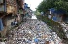 Convergence of human and solid waste in a stormwater drain in Mumbai, India (Photo by Giacomo Galli/ IRC)