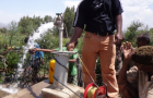 Pump test of shallow well