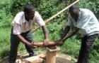 Hand pump mechanics