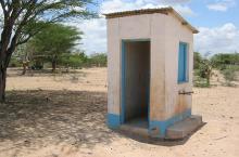 latrine in Africa