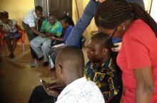 FLOW training Ghana