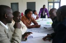 Participants of the LeaPPs sessions in Kyenjojo district in Uganda