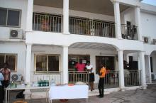 The opening of Accra Water House