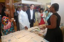 Learning event in Ghana