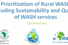 Prioritization of Rural WASH including sustainability and quality of WASH services