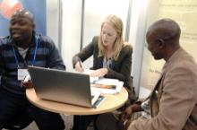 User Testing at Stockholm World Water Week