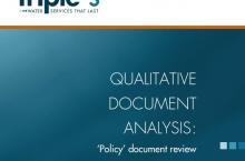 Qualitative Document Analysis (QDA)