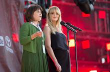 Lilianne Ploumen at Global Citizen 2015 Earth Day
