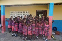 Schoolchildren in Ghana