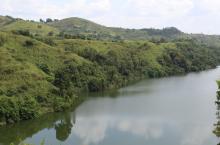 Mpanga river in Kabarole district, Uganda