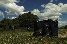 Latrine in Mozambique