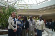 IRC team at Africa Water Week