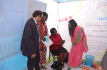 Menstrual Hygiene Management lab developed by Water Supply & Sanitation Collaborative Council (WSSCC) India