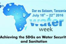 Africa Water Week logo