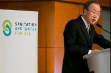 UN Secretary-General Ban Ki-moon at SWA HLM