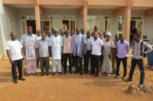 Participants of the Banfora workshop